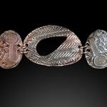 Ann ovals panel bracelet-detail